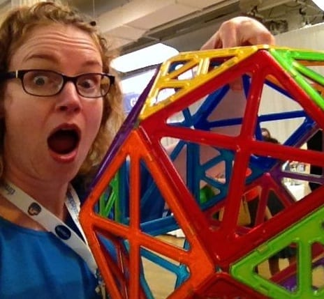 Magformers, you can lift up your structures